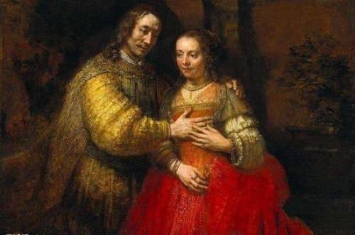 荷兰 伦勃朗 《犹太新娘》