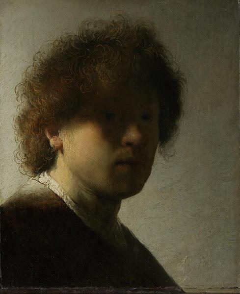 荷兰 伦勃朗《作为青年的自画像》