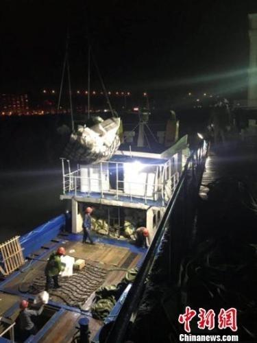福州海关保通关 黄岐对台小额贸易今年首批货物进境