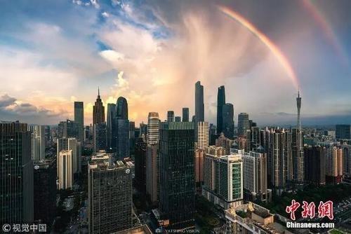 资料图:广州。图片来源:视觉中国。