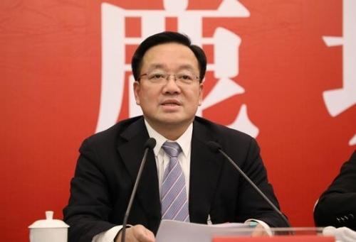 鹿城区委书记姜景峰  鹿城区新闻中心提供