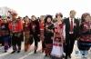 3月5日,第十三届全国人民代表大会第二次会议在北京人民大会堂开幕。这是代表走向人民大会堂。 新华社记者杨宗友摄