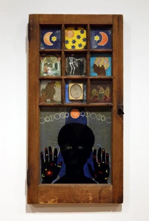 贝蒂耶·萨尔(Betye Saar)作品,《Black Girl's Window》