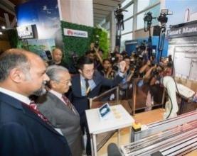 中国企业亮相马来西亚5G技术展