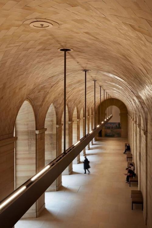 改造后的拱廊©费城艺术博物馆