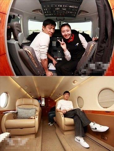 明星富豪私人飞机大比拼:中国富人不甘落后